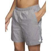 """Nike Challenger 2-in-1 7"""" Pantalones Cortos Deportivos para Hombre, Color Gunsmoke/Gunsmoke/Heather/Reflective Silver, XL"""