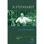 Articole burgheze - N. Steinhardt