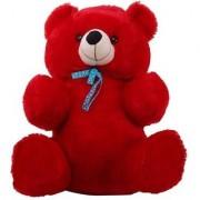 3 FEET CUTE TEDDY BEAR-(Red)