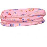 Kuber Industries Travel Organiser,Toiletry Bag,Multi Purpose Kit In Imported Material (Waterproof) Travel Toiletry Kit(Pink)