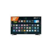 Smart TV LED 32'' HD Samsung 32J4290 2 HDMI 1 USB Wi-Fi e Conversor Digital Integrados