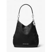 Lillie Large Pebbled Leather Shoulder Bag