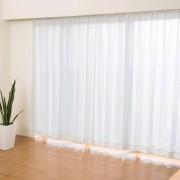 イージーオーダーカーテン幅100cm2枚組[丈105-132cm]【QVC】40代・50代レディースファッション