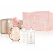 Bvlgari Rose Goldea Комплект (EDP 90ml + BL 75ml + SG 75ml + Bag) за Жени