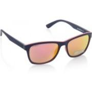 Joe Black Wayfarer Sunglasses(Yellow, Pink)