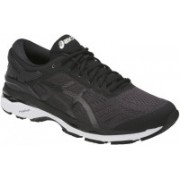 Asics Gel-Kayano 24 Running Shoes For Men(Black, White)