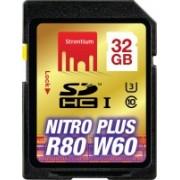 Strontium Nitro plus 32 GB SDHC UHS Class 3 80 MB/s Memory Card