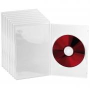Pearl DVD Slim (7 mm) Einzel Box 10er-Set transparent