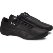 Puma Future Cat ReEng Quilted Sneakers For Men(Black)
