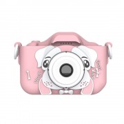 Kids Camera HD Digital Camera Cartoon Camera Cute Toys Kids Birthday Gift Toys Camera - Pink
