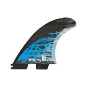 Fcs Fcs Ii Mb Pc Carbon Large Tri Retail Fins Blue