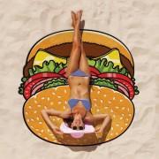 Gigantic Burger Beach Towel