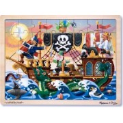 Melissa and Doug - Puzzle lemn Aventura Piratilor