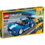 Конструктор ЛЕГО КРИЕЙТЪР - Турбо състезателен автомобил, LEGO Creator, 31070