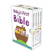 Baby's First Bible: The Story of Moses/Noah's Ark/The Story of Jesus/Adam and Eve, Hardcover/Roger Priddy