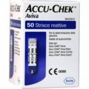 Accu-Chek Aviva Strisce reattive per la misurazione della glicemia confezione 50 strisce
