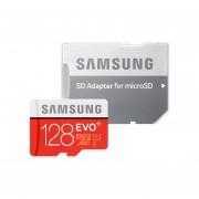 Samsung 128GB EVO Plus Tarjeta Micro SDXC De Clase 10 UHS-i Con Adaptador De Hasta 80MB / S (MB-MC128DA)