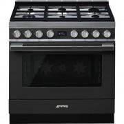 SMEG CPF9GMAN Cucina a Gas Forno 115Lt Grill Antracite