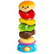 Развивающая игрушка-пирамидка «Веселый бутерброд»