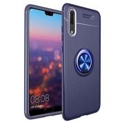 Huawei P20 Pro Magneet Ringgrip Cover - Blauw