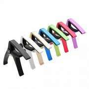 AROMA AC-01 Guitar Capo Zinc Alloy For Acoustic Folk Electric Guitar