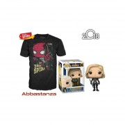Black Widow Y Playera De Iron Spider Funko Pop Avengers