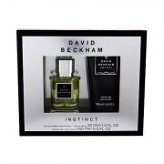 David Beckham Instinct confezione regalo Eau de Toilette 30 ml + 150 ml doccia gel uomo
