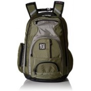 Unknown Fallin Padded Laptop Backpack Fits Up to 17Inch Laptops Green Unisex 10 L Backpack(Green)