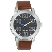 Fastrack Casual Analog Black Dial Mens Watch - 3121SL01