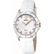 Reloj F16929/A Blanco Festina Mujer Boyfriend Collection Festina