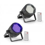 Beamz PLS15, комплект V6, LED стробоскоп PLS20, UV Par LED прожектор (PL-PLS-v4)