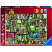 Puzzle libraria bizara, 1000 piese Ravensburger