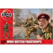 Kit constructie Airfix soldati British Paratroops