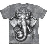 Spiru T-Shirt Mountain Artwear Big Face Ganesh XL