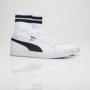 Puma clyde sock nyc White