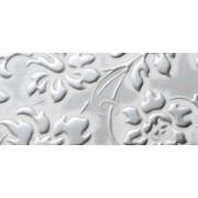 LL FLORAL White/Silver matt 2600x1000 SA 13414