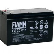 Fiamm Batteria al Piombo 12V 7,2Ah (Faston 6,3mm)