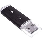 Silicon Power Ultima U02 Black 4 GB