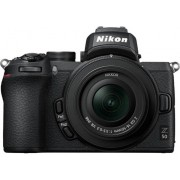 Nikon Kit Cámara Mirrorless NIKON Z50 + 16-50 VR (21.5 MP - Sensor: APS-C - ISO: 100 a 51 200)