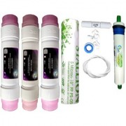 Earth Ro System 1 Year RO service Kit Earth 80GPD membrane with Double Push Inline set