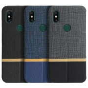 Bakeey Flip Cloth Pattern+PU Leather Full Protective Case For Xiaomi Mi MIX 3