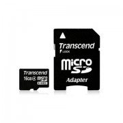Transcend Scheda di memoria MicroSDHC Transcend TS16GU4 16Gb Classe 4
