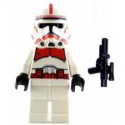 LEGO Star Wars Minifig Clone Trooper Episode III Red Markings Shock Trooper