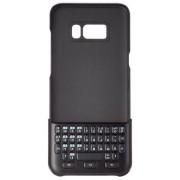 Husa Protectie Spate cu tastatura qwerty Samsung EJ-CG955BBEGDE pentru Samsung Galaxy S8 Plus G955F (Neagra)