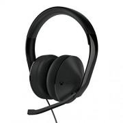 Microsoft Auriculares alámbricos, Estéreo, Circumaural, 20Hz, 20kHz, Minifono, color Negro Xbox One Stereo Headset Edition