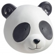 Kwantum Wandhanger Panda Zwart Wit