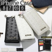 スターエンボスiphone手帳型ケース その他ファッション小物【リュリュ】 ベルーナ