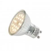 [lux.pro] Bombilla LED Spotlight GU10 5W Spotlight 450LM blanco cálido 3000K foco empotrable SMD bajo consumo