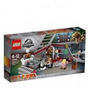 Lego Jurassic World Urmarirea Velociraptorului din Jurassic park 75932 pentru 6-12 ani