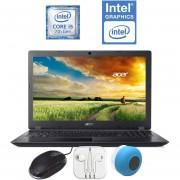 "Laptop Acer ASPIRE A315 I5 7200U 6GB ram 1TB A315-51-51SL 15"" + KIT"